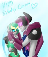 Happy Birthday Corona by Pandablubb