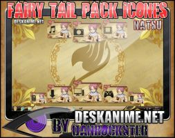 Natsu Pack Icons by Danrockster