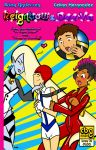 Reignbow and Dee Va cover 3 by ChibiCelina