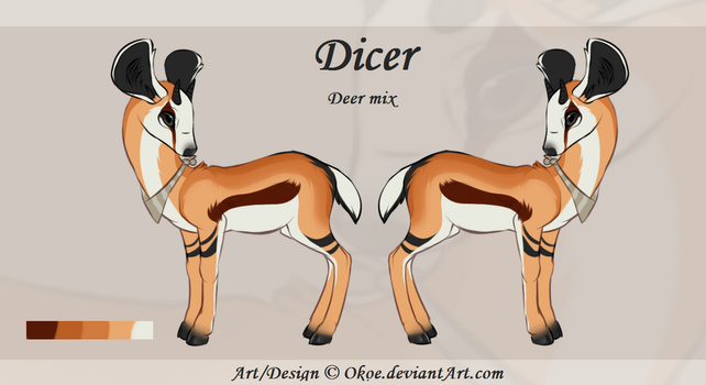Dicer Reference sheet 2017 by Okoe