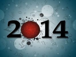 happy new year by roup14