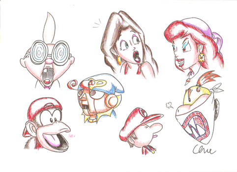 Mario Characters - Part 3 by EdwinArt