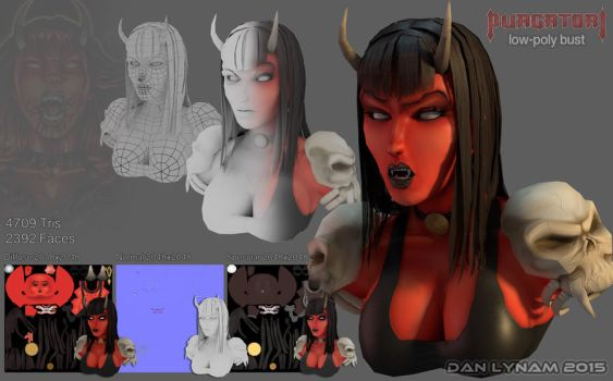 Purgatori (Low-Poly) [UPDATED] by faceaway