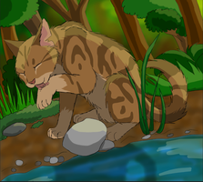 Leafpool Basking in the Sun by BowtieMySoul