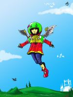 A good day to fly away by Yamanishi