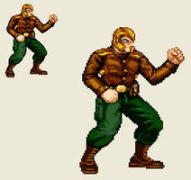 Sprite Work: Spartan One by SXGodzilla