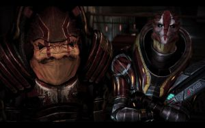 ME3 Members of the Talon Gang by chicksaw2002