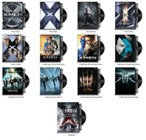X-Men (Film Series) Icon Pack by musacakir
