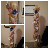 Rapunzel Wig ( Commission ) by aelynn000