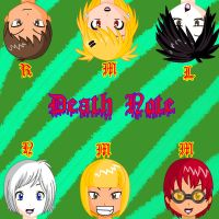 .:Death note faces:. by RandomSkilled