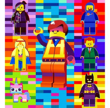 The Lego Movie by hollyfig