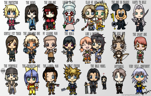 Final Fantasy-KH Friend Tag by GrtNinjaYuffie