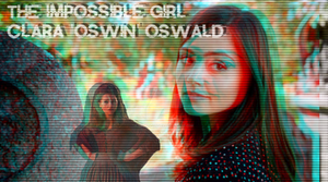 Clara 'Oswin' Oswald - The Impossible Girl by Twerka-Trever