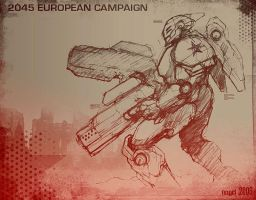 2045 European Campaign by marcnail