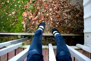 About to Fall by zara-leventhal