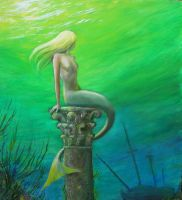 Mermaid of Atlantis wip2 by dashinvaine