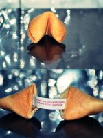 fortune cookie by LyquidPurple