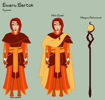 ToS - Emeric Reference Sheet by theRainbowOverlord