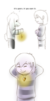 One By One - Chapter 8: Asriel by SuperHyperHedgey