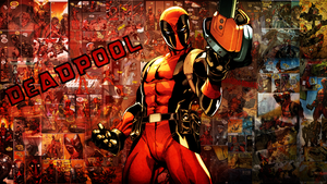 Wall' for a Friend - Deadpool (V1) - Name Included by rymae