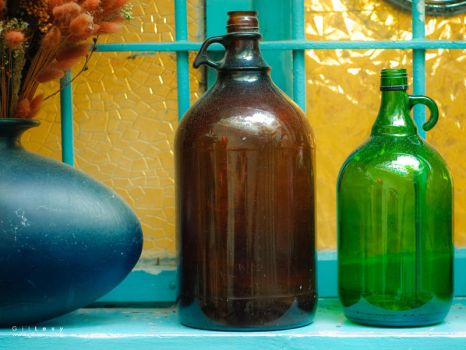 Old Bottles by Gil-Levy
