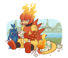 Magmar Daddy by CloverCoin