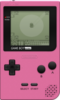 Nintendo Game Boy Pocket [Pink] by BLUEamnesiac