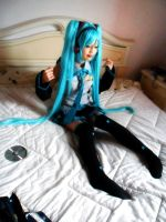 Miku Hatsune Format Cosplay 5 by LilithNagisaIV