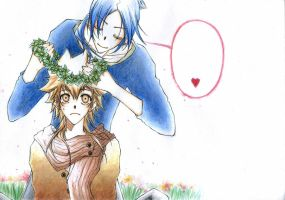Fanart KHR6927 Romeo n Juliet by Yoki-fox-C