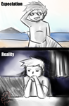Summer expectaion vs reality by HyMaster