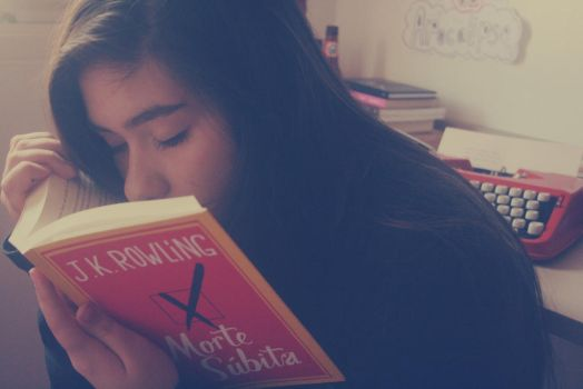 The Weird Habit of Smelling Books by sortdrame