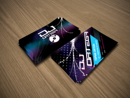 Dj ortega - bussines card by dinamicdesign