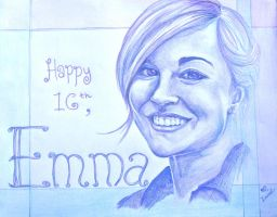 Emma's Birthday Card by SpaceFood