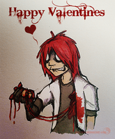 Happy Valentines day by suki-red