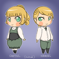 Grimm Academy: Hansel and Gretel by Hatchet-Ears