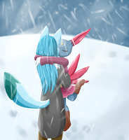 Fluffier than the Snow by HimeHeishi