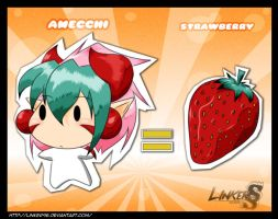 Amecchi Strawberry by LinkerLuis