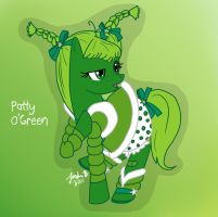 MLP: Patty O'Green by Cisol