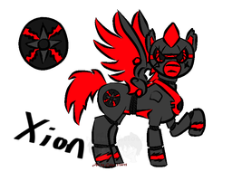 Xion by aeshihowl