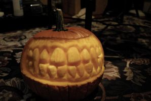 Pumpkin Teeth by asconch