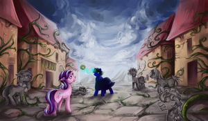 Welcome home Starlight by michal4269