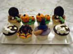 Halloween Cupcakes 2010 by Sliceofcake