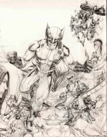 Wolverine Saga Homage by EXTronic-AWilson