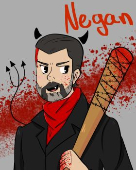 Negan by Unleashed111