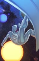FaH- Silver Surfer by ParisAlleyne
