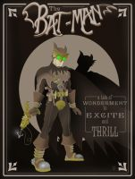 Steampunk Batman by Eyemelt