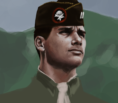 Lt Speirs [WIP] by laurahough