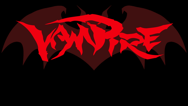 Vampire Bat Logo Wallpaper by Sabretooth