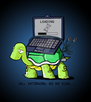 Slow Interwebz by Coffeehouseartist