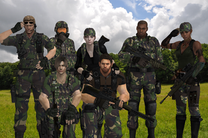 New Recruits by JillValentine36C